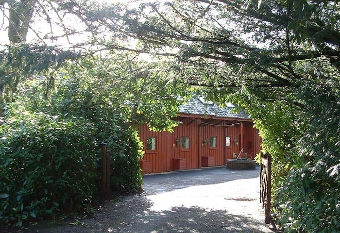 Woodland Lodge, Llanteglos nrAmroth - Llanteg - スイス式シャレー