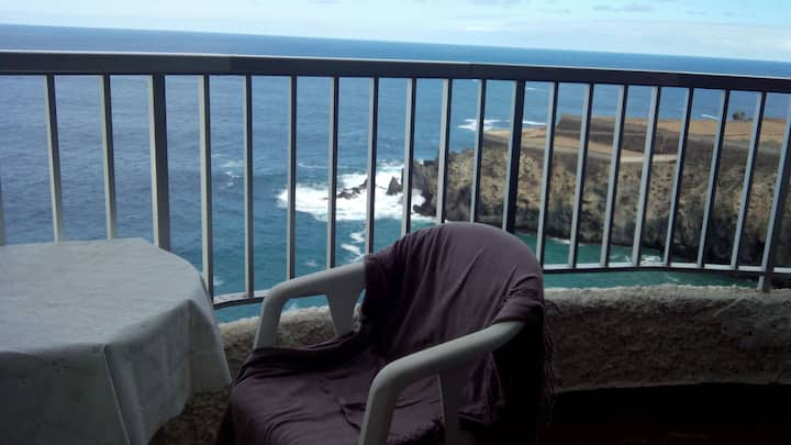 Amazing ocean view from apartment