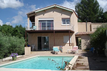 Lovely House with view of Cevennes - Sommières