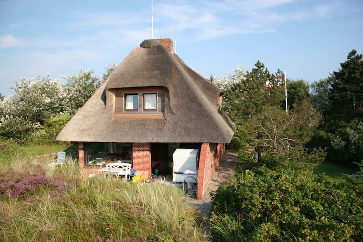 SYLT-beach-side House in the dunes - List - House