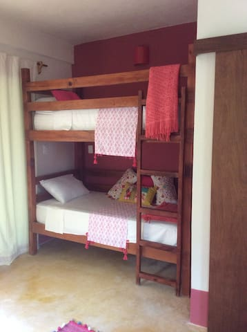 Room Rosa in Jungle B&B with Pool - Chemuyil - Villa
