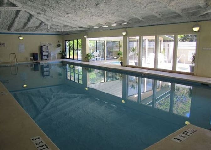 Fitness Center Has Indoor Heated Pool!