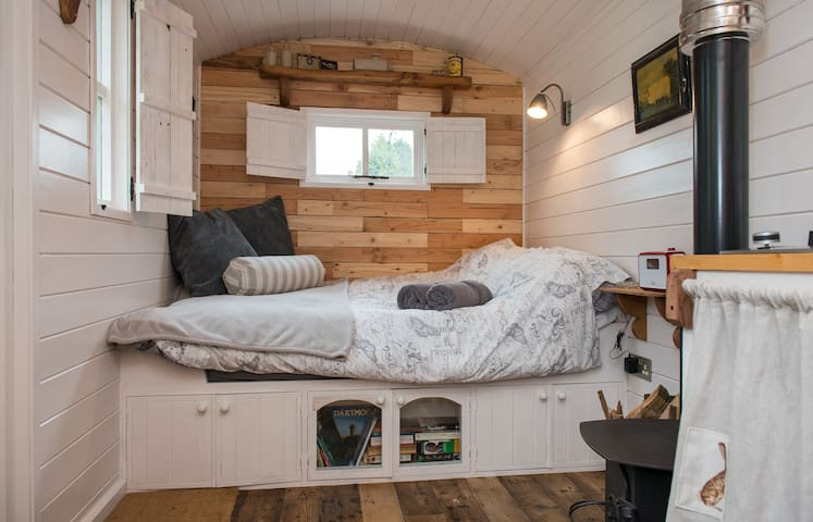 witherdon wood shepherds hut, devon - Germansweek - Cabana