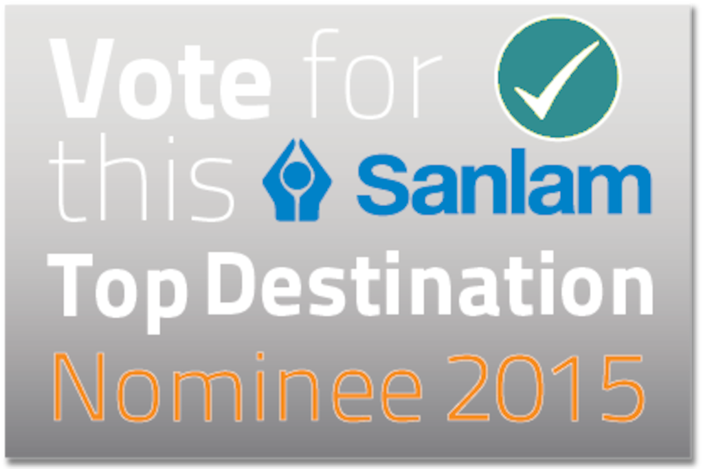 MAGRIETJIE Guest Home was voted a FINALIST in The Sanlam Top Destination Awards. The winners will be announced on 29 October 2015 in Cape Town. www.magrietjie.co.za