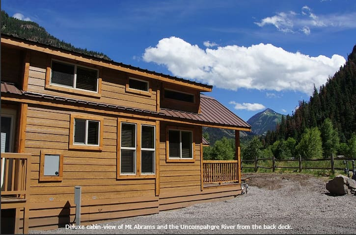 New Deluxe Riverfront Cabin! - Ouray - Chatka