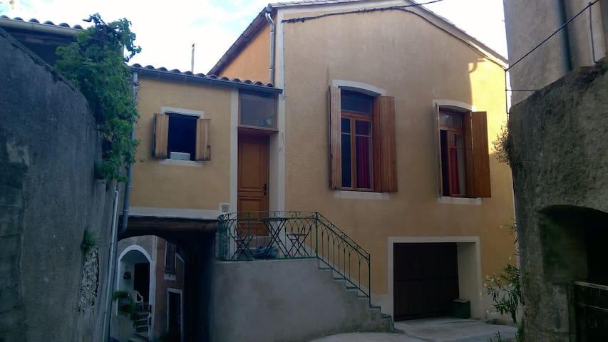 Maison au coeur du village cevenol - Aumessas - Casa