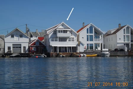 Apartment by the sea on Karmøy - Åkrehamn - Huoneisto