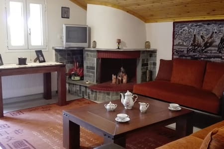 Sweet Loft in Trikala - Trikala - ห้องเพดาน