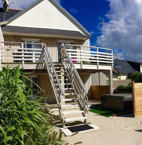 Belle maison de plage 6 pers avec spa