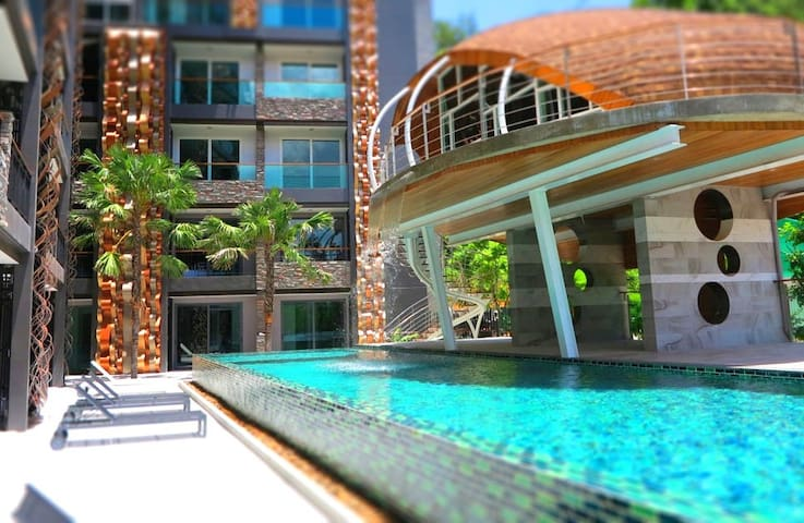 Modern New Apartment Patong Beach - TH - Apartamento