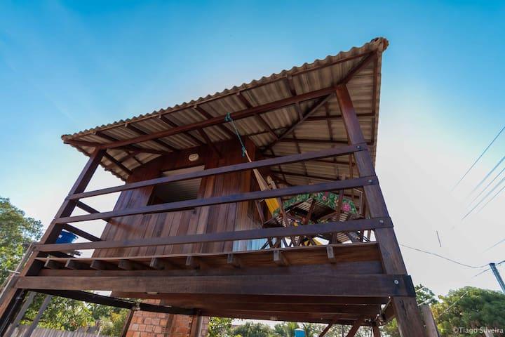 Chalé de madeira em Alter do Chão - Santarém - House