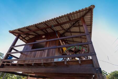 Chalé de madeira em Alter do Chão - Santarém - Rumah