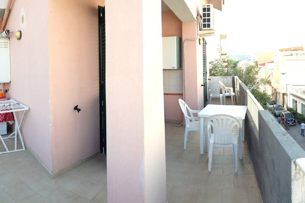 Ampio balcone vista mare (Punta Faro)