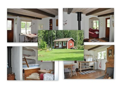 Cosy stuga close to the river - Hagfors - Zomerhuis/Cottage