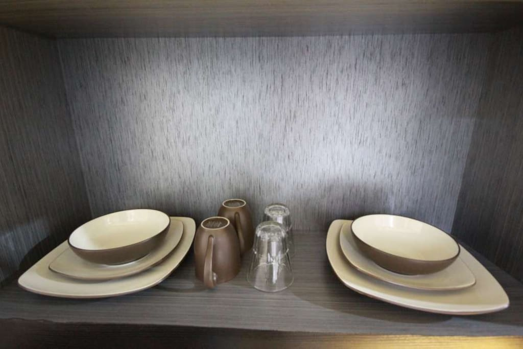 Careful selection of dining ware