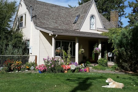 Mt Emily Room, Willow Creek Horse B&B - Bed & Breakfast