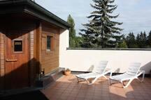 Über den Dächern von Erding