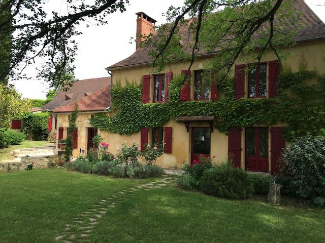 Propriété, piscine écologique, lac - Veyrines-de-Domme - บ้าน