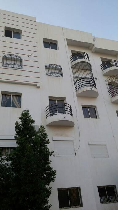 Appartement situé au 2ème étage
