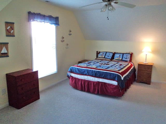 Secluded Cottage with Lake View - Ocracoke - Hus