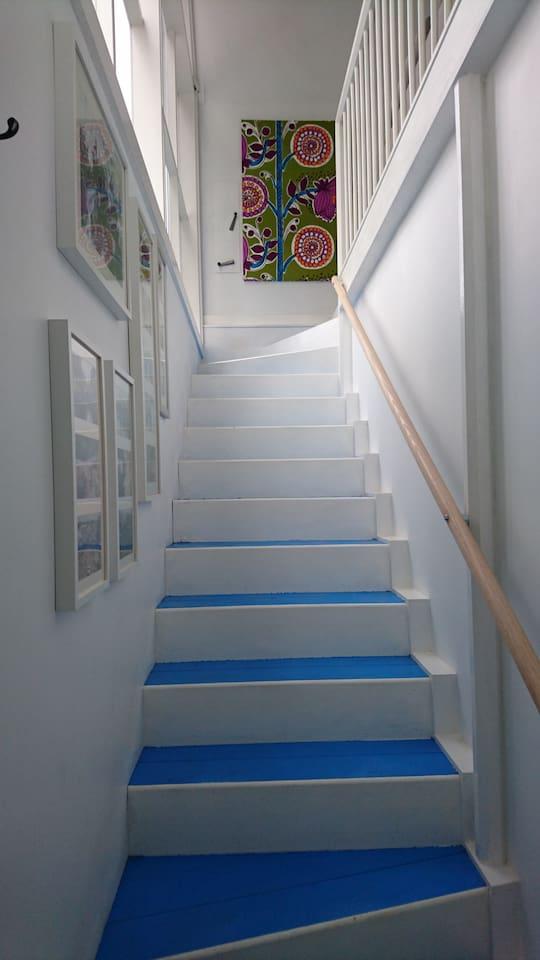 Entrance staircase