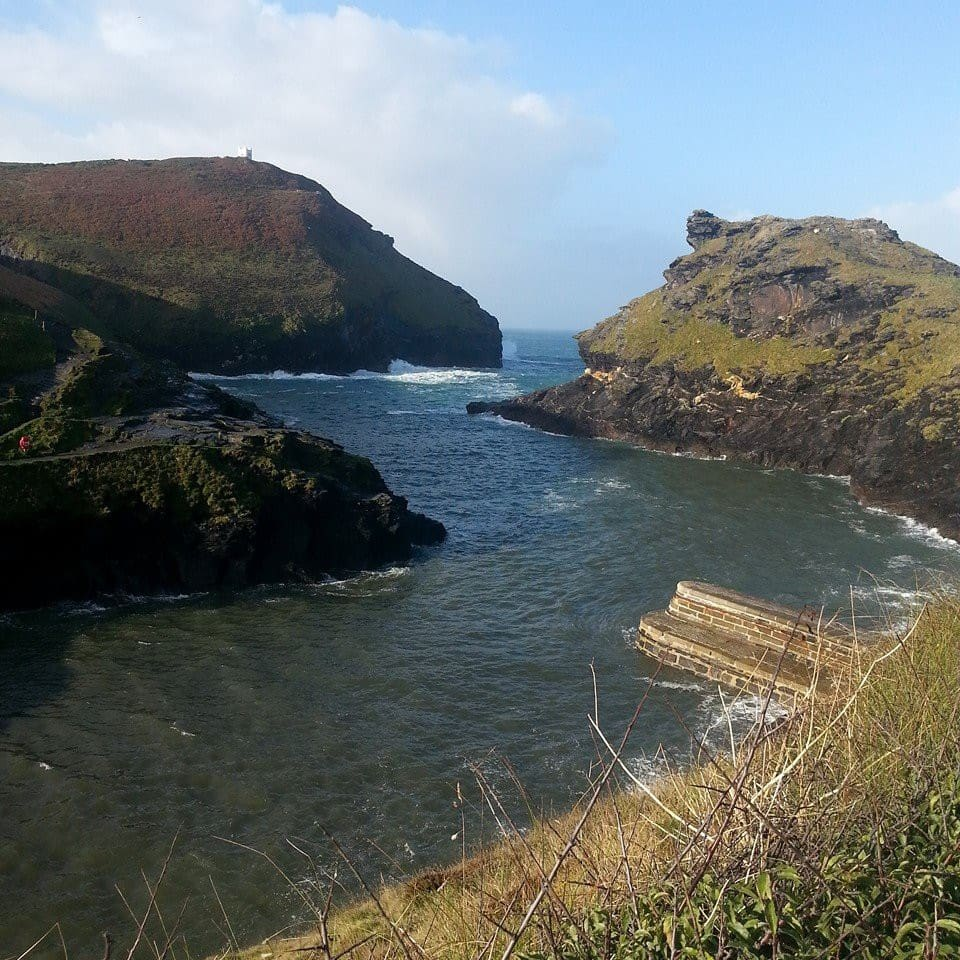 Boscastle Harbour, only 5 miles away