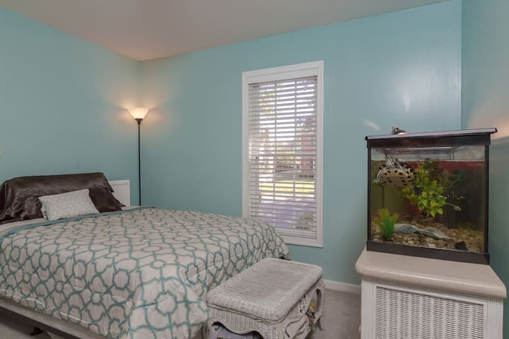 Lovely Lakeside Room - Henrico - Casa