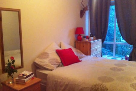Cosy double bed near Guinness