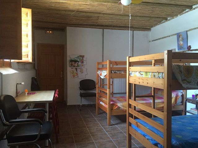 habitacion literas 4 pax cortijo - Cijuela - Slaapzaal