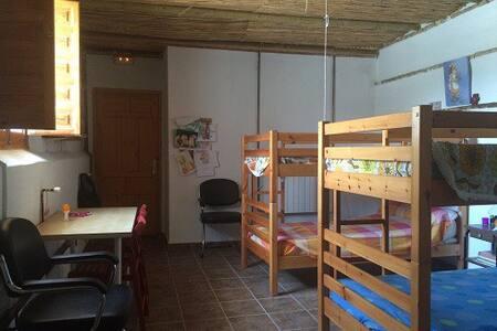 habitacion literas 4 pax cortijo - Cijuela - Schlafsaal