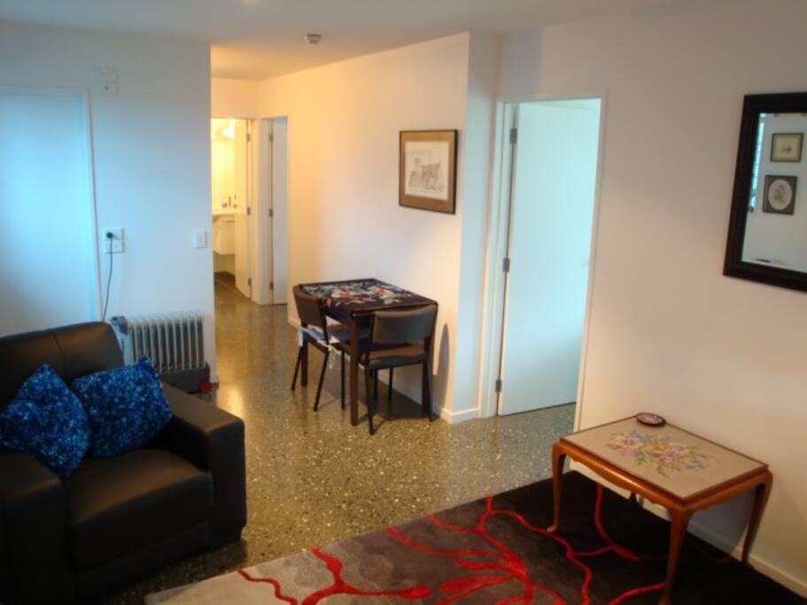 Small lounge area.