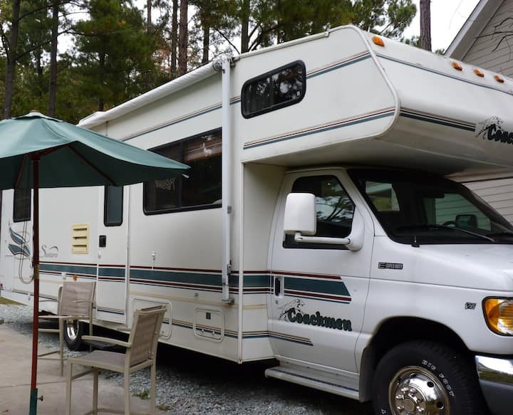 Try an RV in the driveway