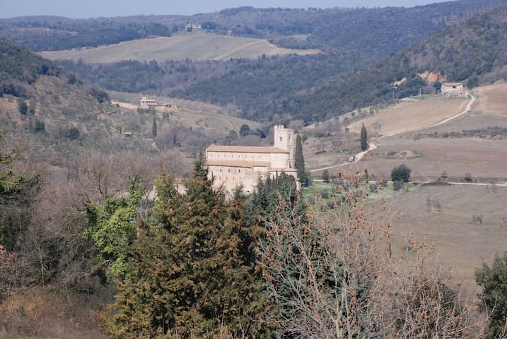 B&B Locanda Sant'Antimo - Camera 1 - Castelnuovo dell'Abate - Bed & Breakfast