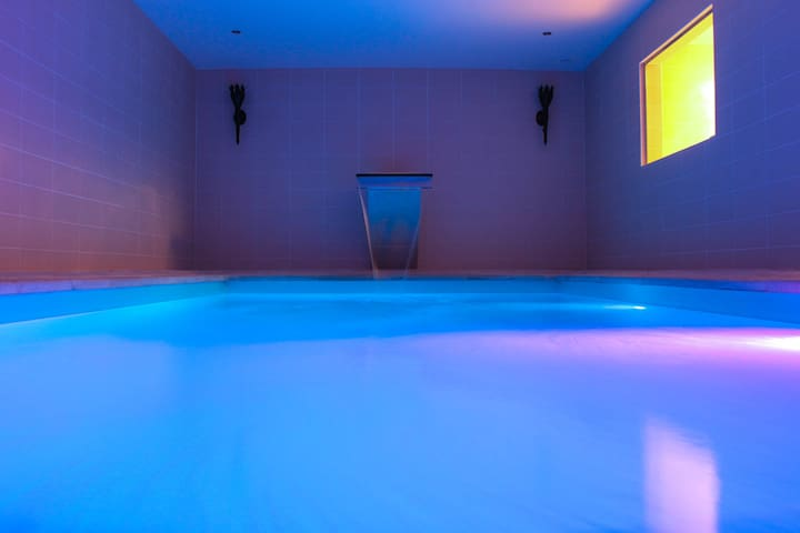 Luxery Villa with swimmingpool. jacuzzi, bar - Montigny-en-Morvan - Casa de camp