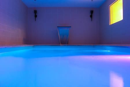 Luxery Villa with swimmingpool. jacuzzi, bar - Montigny-en-Morvan - 別墅