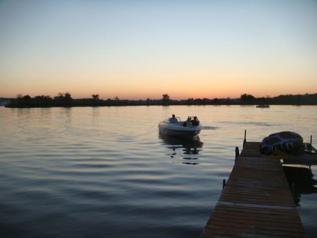 Lake retreat in Indiana
