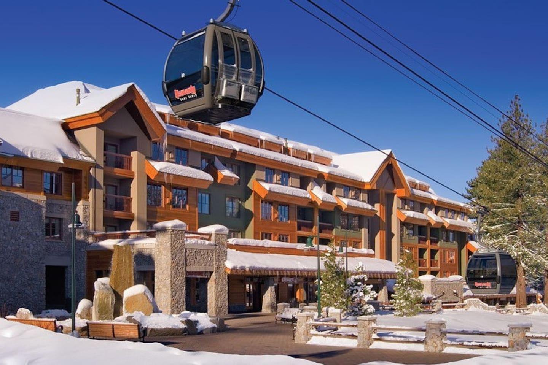 Marriott at Heavenly Village next to the gondola