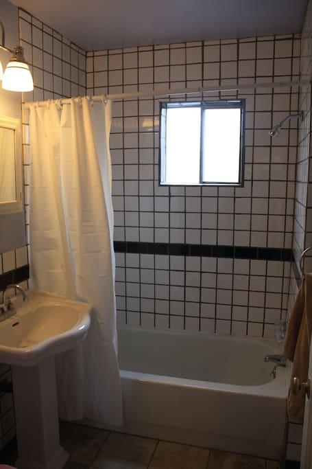 Newly Remodeled Bath