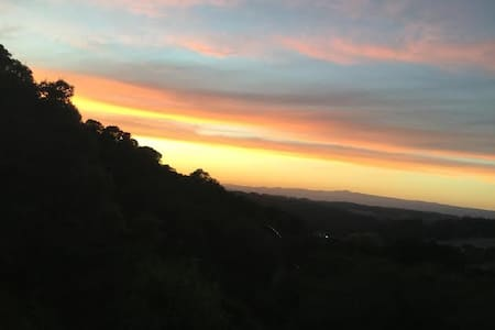 Panoramic Views of the Santa Cruz Mountains - Royal Oaks - House