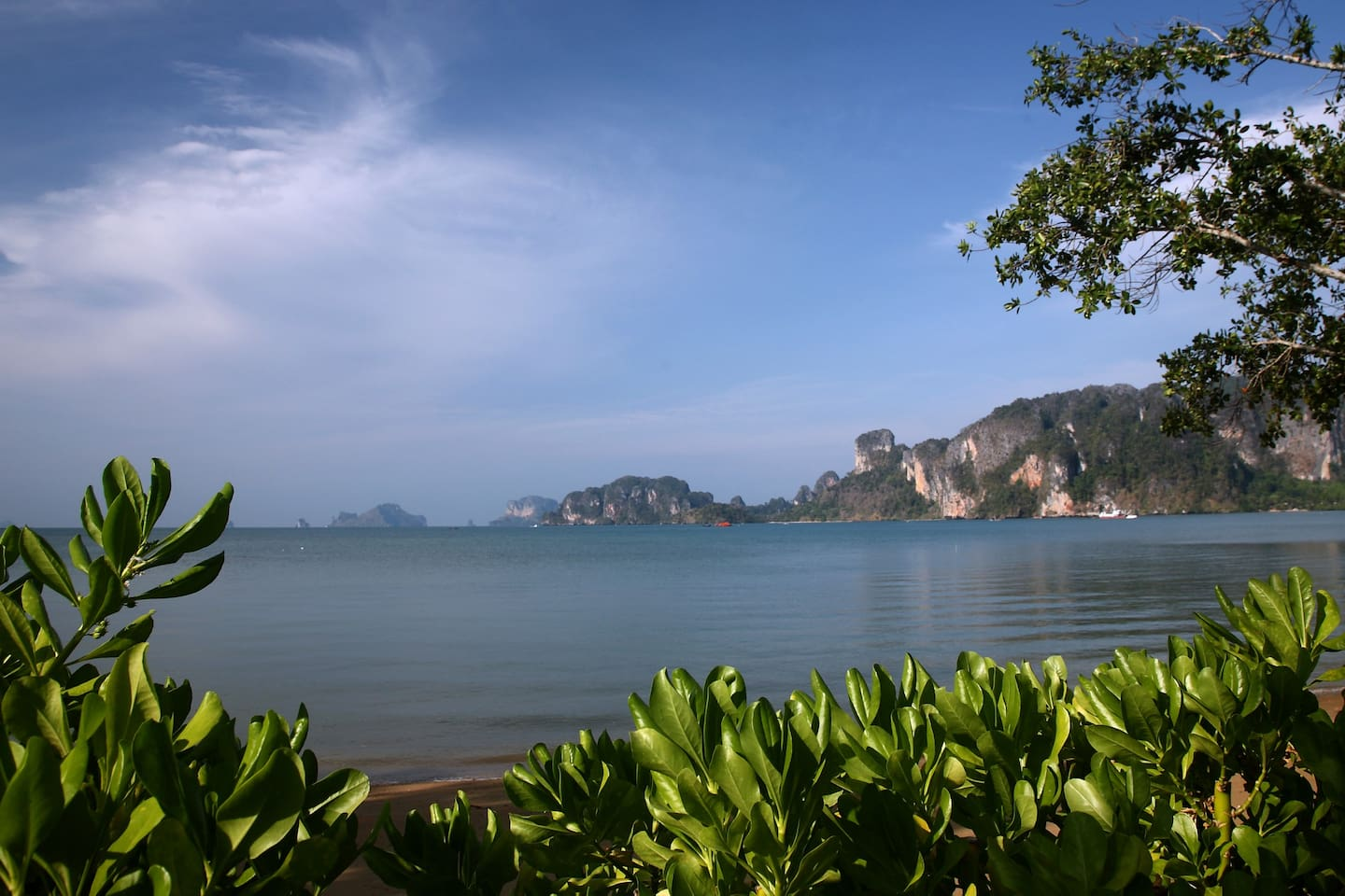 fantastic view of iconic Krabi sea in your front yard