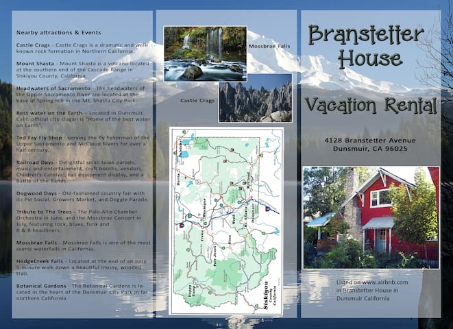 Beautiful Branstetter House - Dunsmuir - Hus