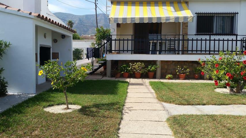 ACOGEDORA CASA VACACIONAL ZONA PARQUE DELTA EBRO - Montsià Mar - Haus