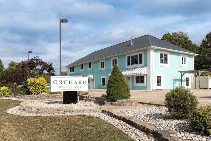 Modern Condo Unit is located just a short walk to Orchard Beach State Park!