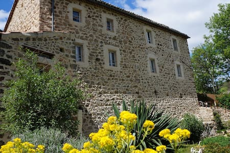 the refuge of fairies- Ardèche heart- near river
