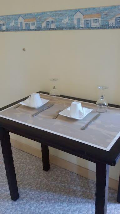 les petits déjeuners en chambre