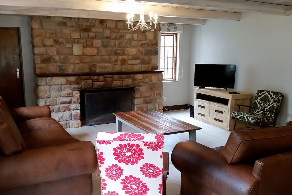 Large fireplace for those cold winter evenings