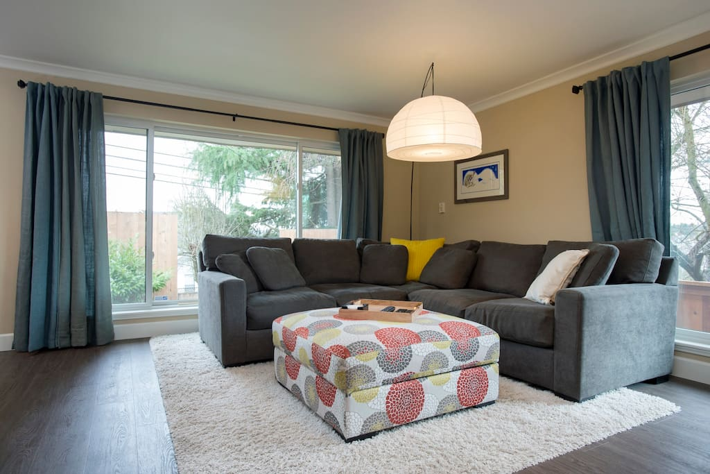 Comfy sectional couch
