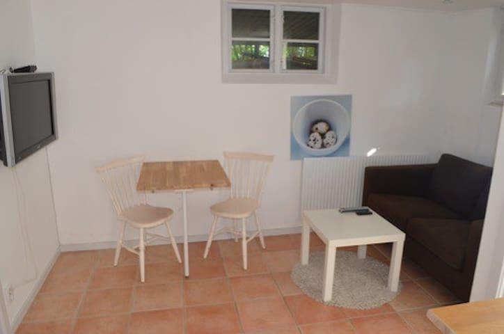 Fin liten lägenhet i Edsviken nära Stockholms city