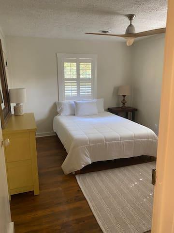 First floor bedroom #1 with queen bed