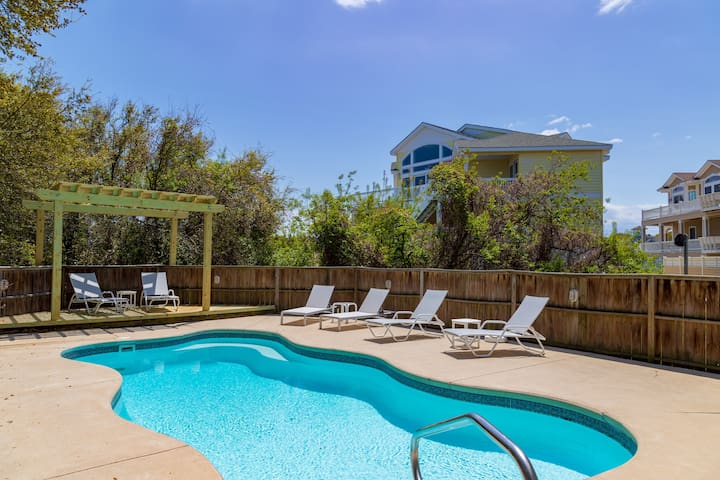 OBXLanai - 5 houses from Beach with Pool